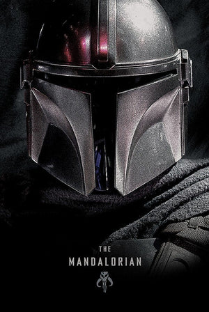 Pyramid Star Wars The Mandalorian Dark Poster 61x91,5cm | Yourdecoration.nl