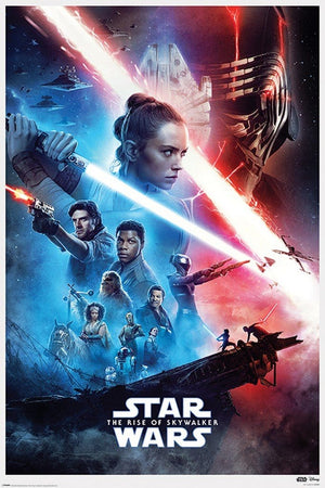 Pyramid Star Wars Rise of Skywalker Saga Poster 61x91,5cm | Yourdecoration.nl