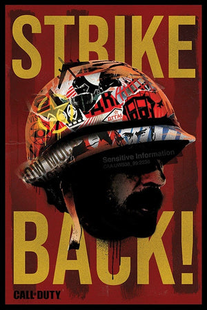 Pyramid Call of Duty Black Ops Cold War Strike Back Poster 61x91,5cm | Yourdecoration.nl