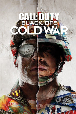 Pyramid Call of Duty Black Ops Cold War Split Poster 61x91,5cm | Yourdecoration.nl