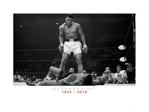 Pyramid Muhammad Ali Commemorative Ali Vs Liston Kunstdruk 60x80cm | Yourdecoration.nl