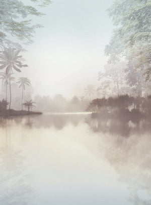 Komar Lac Tropical Pure Vlies Fotobehang 200x280cm 2-banen | Yourdecoration.nl