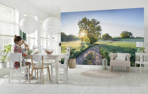 Komar A New Day in Paradise Vlies Fotobehang 400x250cm 4-banen Sfeer | Yourdecoration.nl