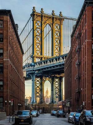 Komar Brooklyn Vlies Fotobehang 184x248cm | Yourdecoration.nl