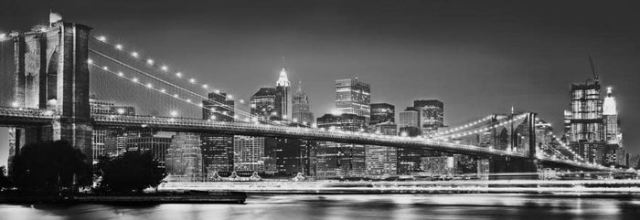 Komar Brooklyn Bridge Vlies Fotobehang 368x124cm
