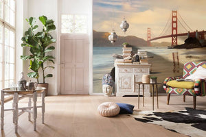 Komar Golden Gate Vlies Fotobehang 368x248cm | Yourdecoration.nl