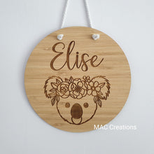 Load image into Gallery viewer, Koala - Name Plaque - Name Sign