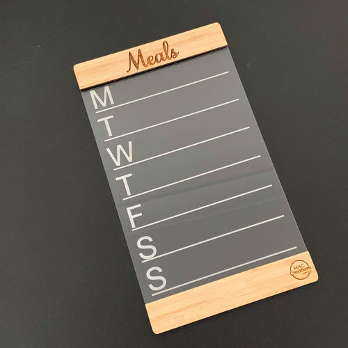 Meal Planner - Family Organiser - Magnetic
