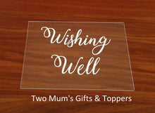 Load image into Gallery viewer, Wedding Wishing Well Sign - MAC Creations Laser Co.