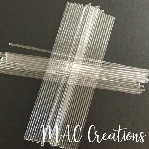 Bulk Acrylic Cake Topper Sticks - MAC Creations Laser Co.