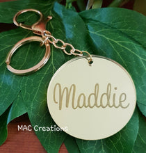 Load image into Gallery viewer, Key Ring - MAC Creations Laser Co.