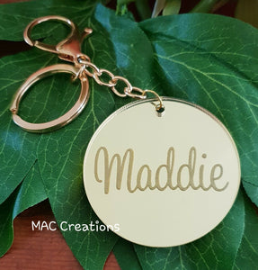 Key Ring - MAC Creations Laser Co.