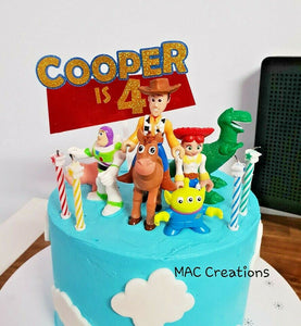 Toy Story Inspired Cake Topper - MAC Creations Laser Co.