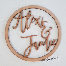 Load image into Gallery viewer, MDF Hoop - MAC Creations Laser Co.