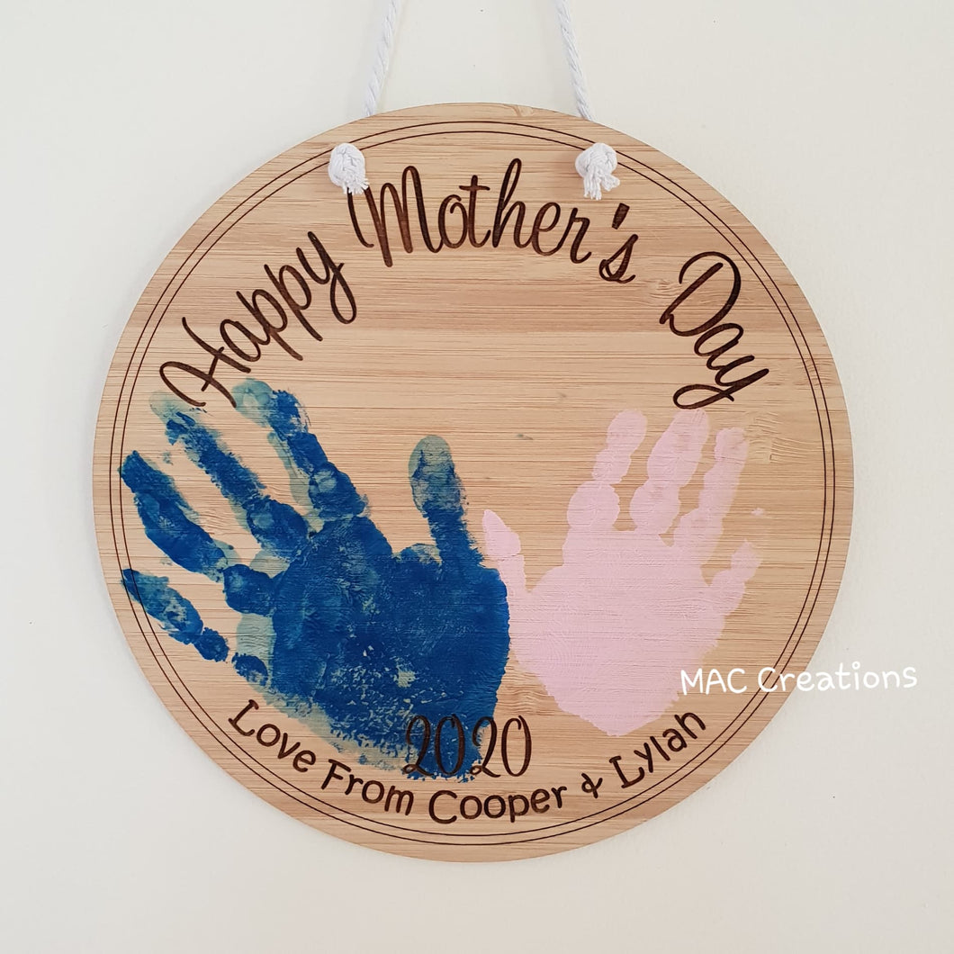 Happy Mother's Day - Wall Plaque - MAC Creations Laser Co.