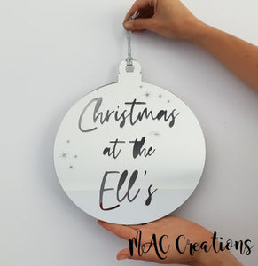 Extra Large Wall/Front Door Ornament - MAC Creations Laser Co.