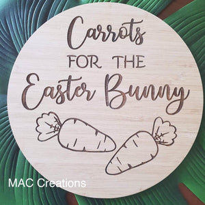 Double Sided Christmas/Easter Snack Plate - Round - MAC Creations Laser Co.