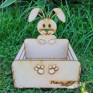 Personalised Easter Bunny Crate - MAC Creations Laser Co.