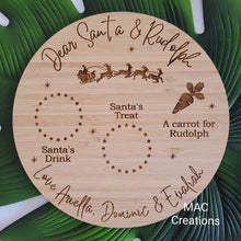 Load image into Gallery viewer, Santa Treat Plate - Round