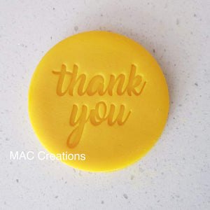 Custom Fondant/Cookie/Soap - MAC Creations Laser Co.
