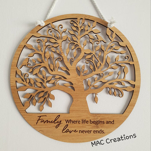 Tree of Life - Wall Plaque