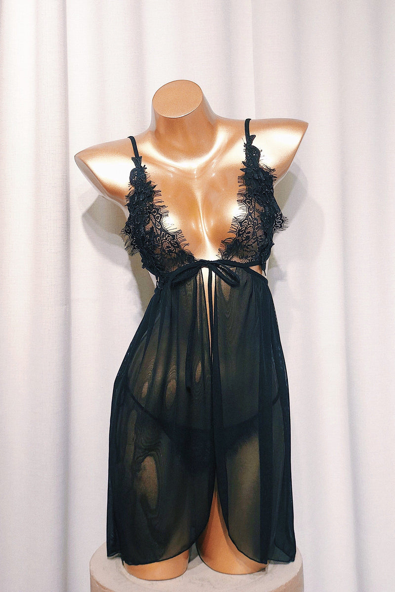 Chantry Black Babydoll