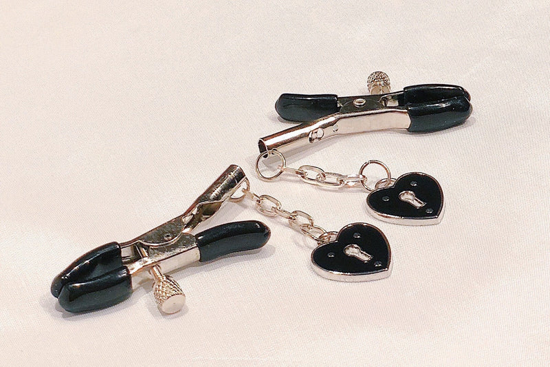Pont Des Arts Black Nipple Clamps
