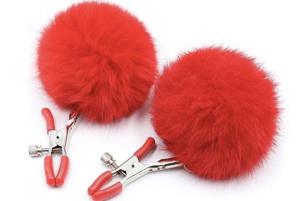 Snookums Red Nipple Clamps