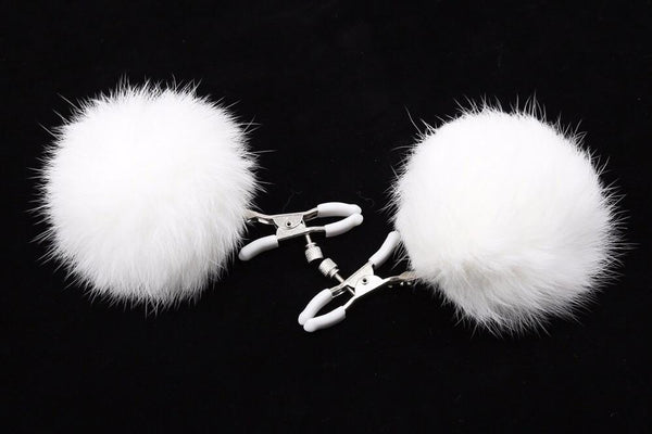 Snookums White Nipple Clamps