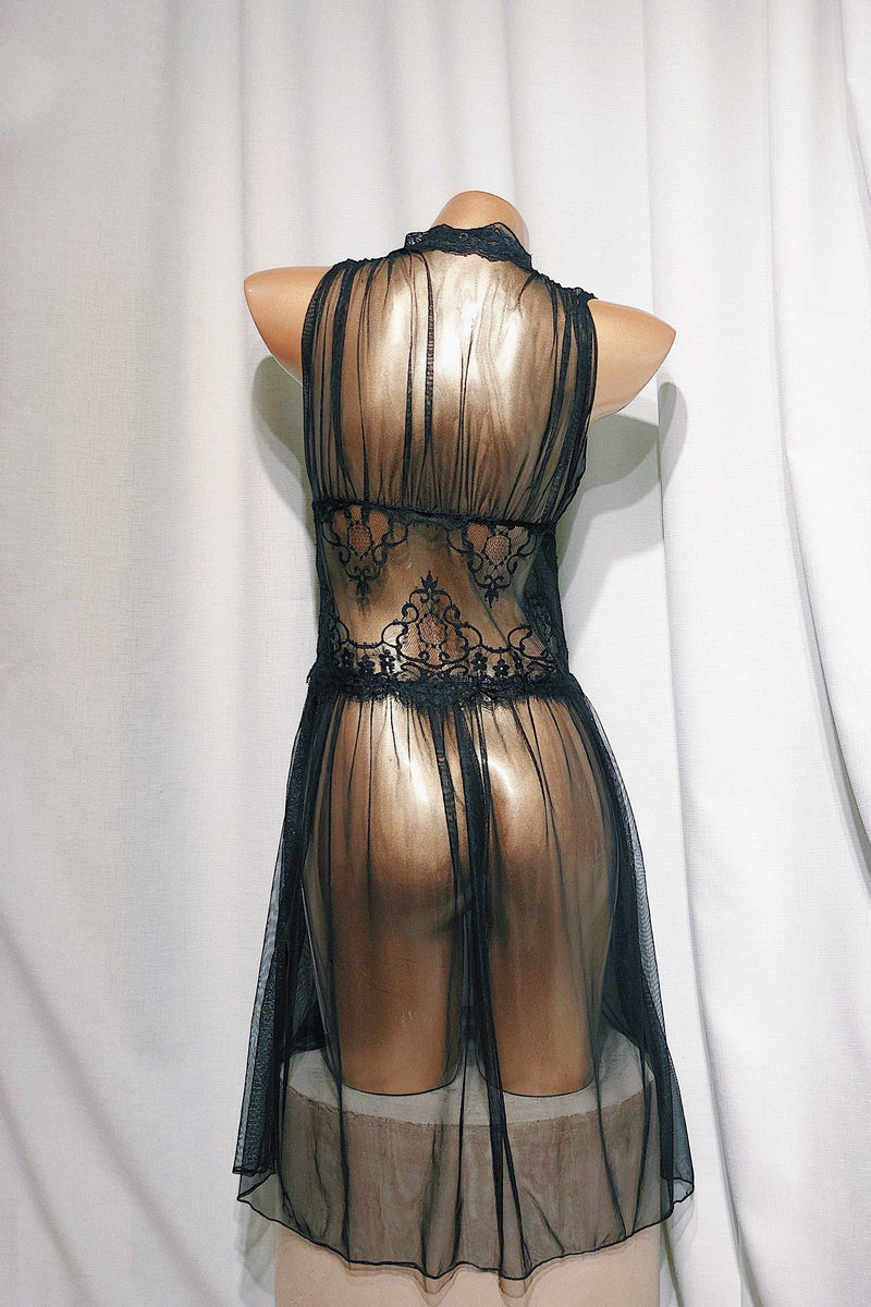 Chiana Black Gown