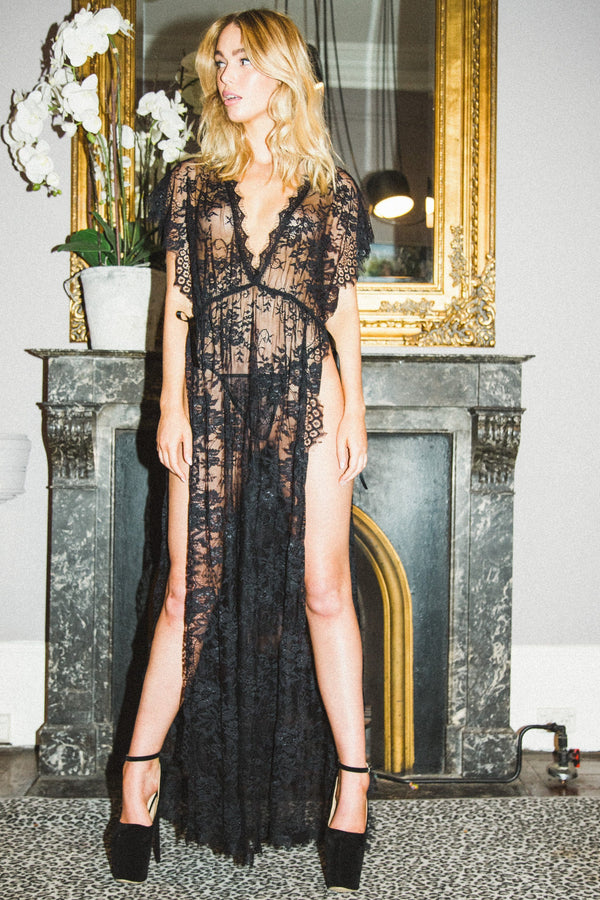 Lunar Karma Black Gown