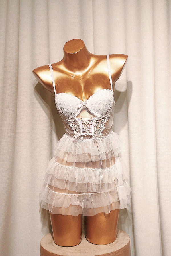 Sixteen Candles White Bustier