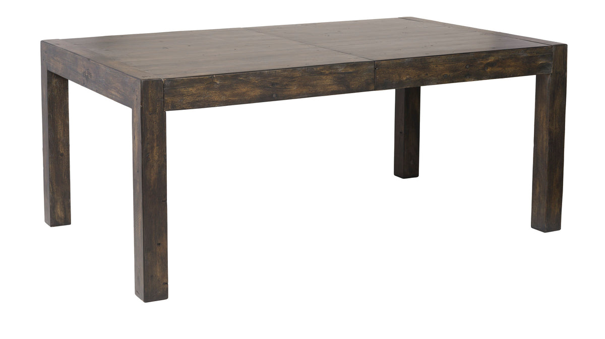 Post & Rail Extension Dining Table in Goldrush