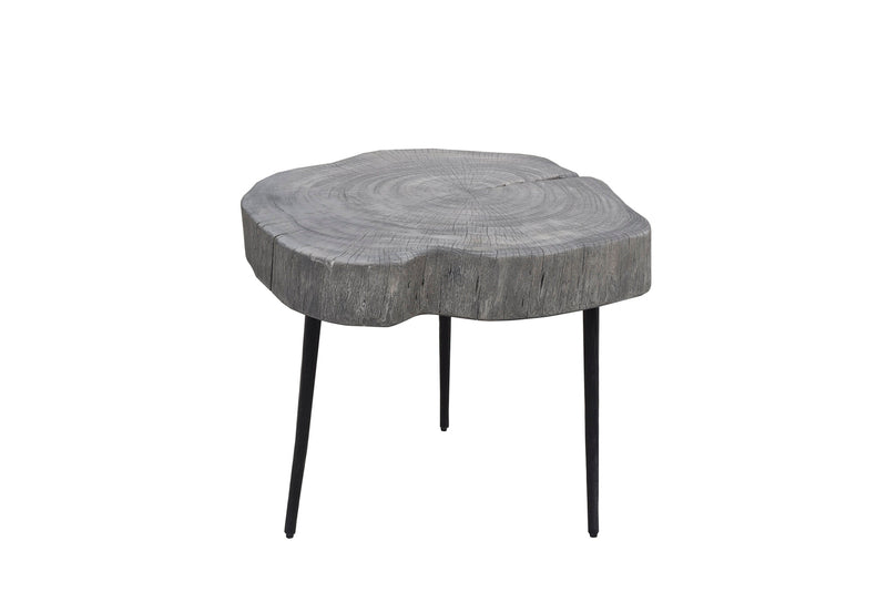 Organic Trunk Side Table