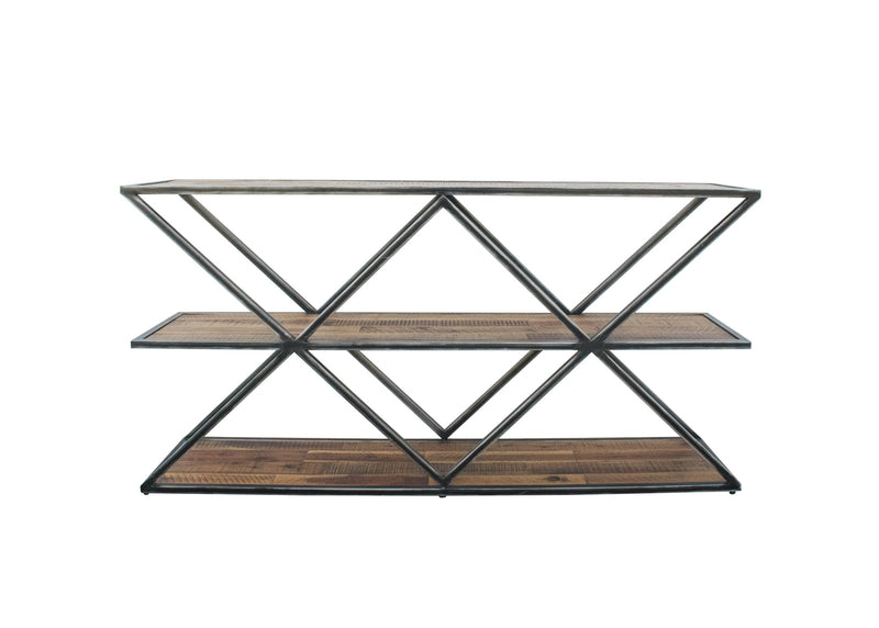 Vintage Two-Tier Console Table