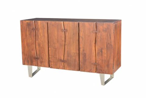 Verde Sideboard in Dark Walnut/Nickel Antique