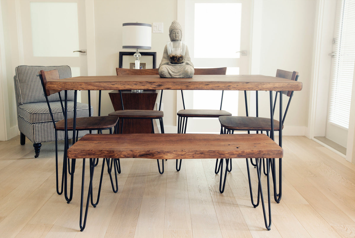 Organic Live Edge Dining Table