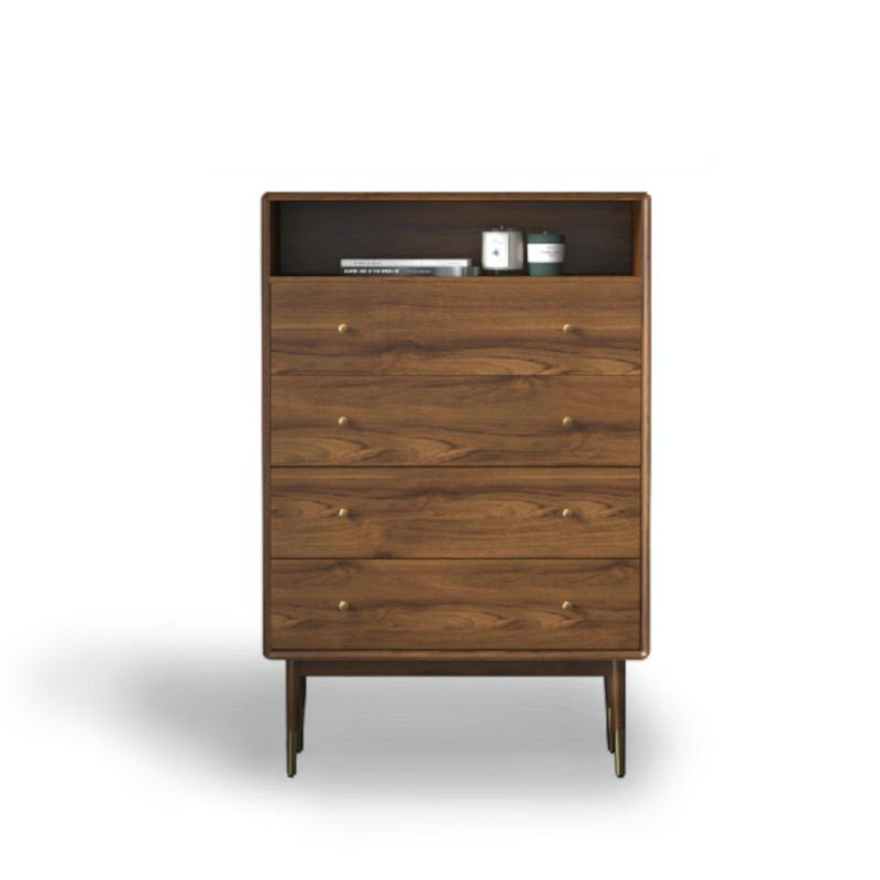 Abby Walnut Chest of Drawers