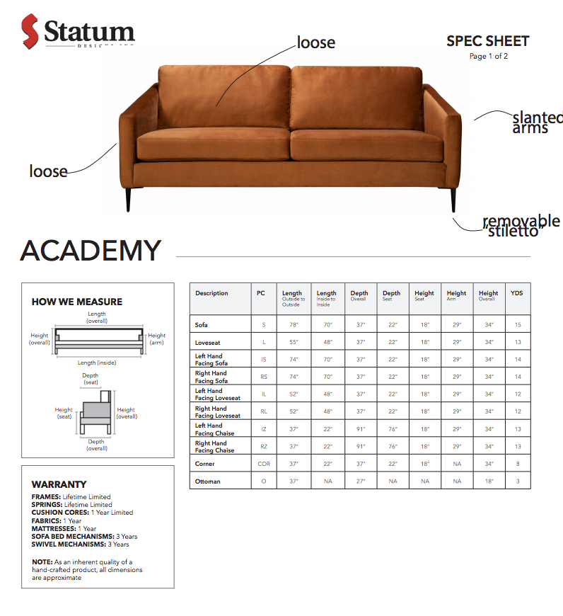 Academy by Statum