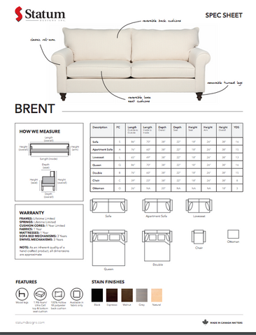 Brent by Statum