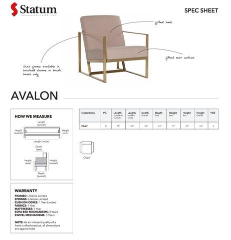 Avalon Chair by Statum