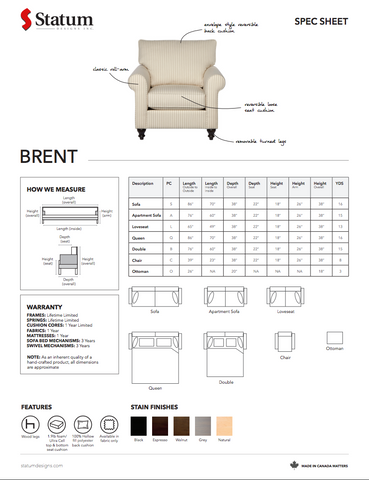 Brent Chair by Statum