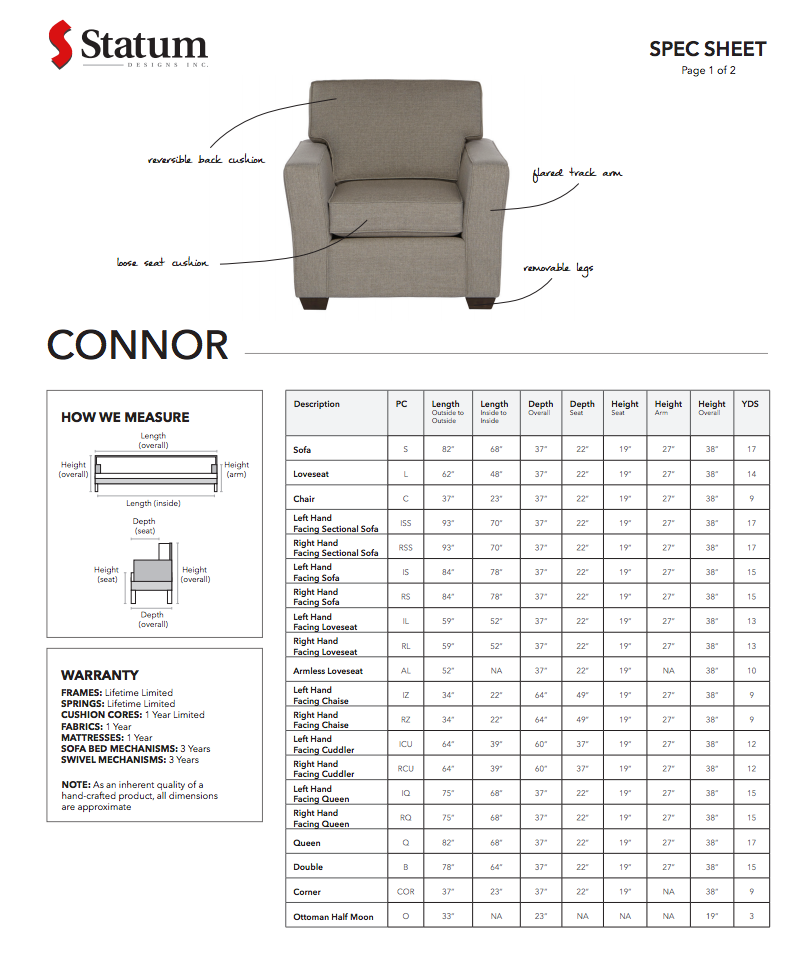 Connor Chair by Statum