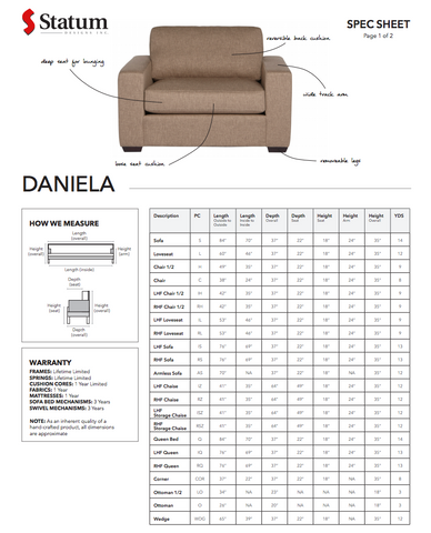 Daniela Chair by Statum
