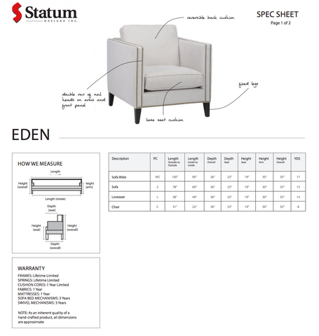 Eden Chair by Statum