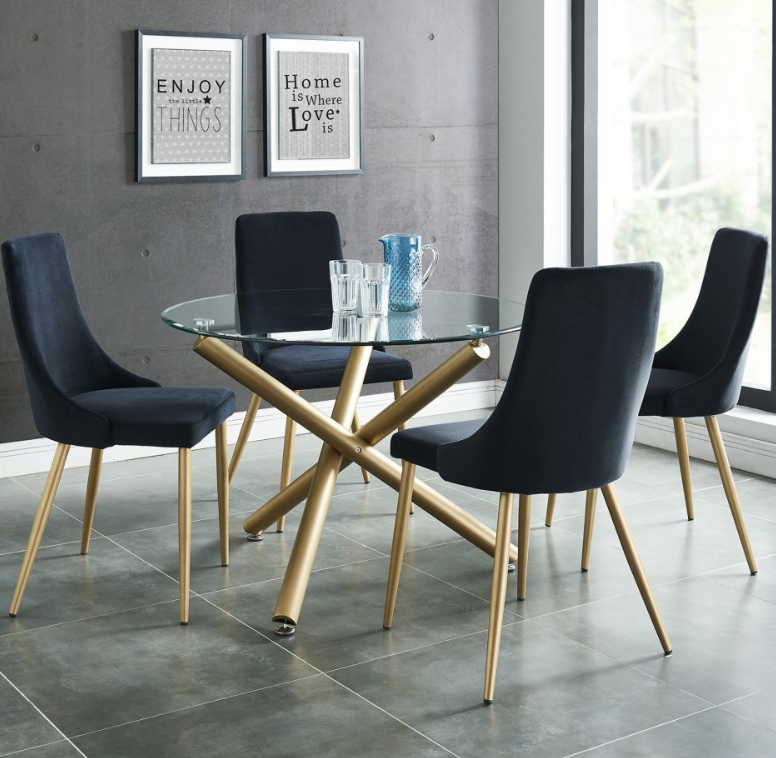 Carmilla 5pc Dining Set