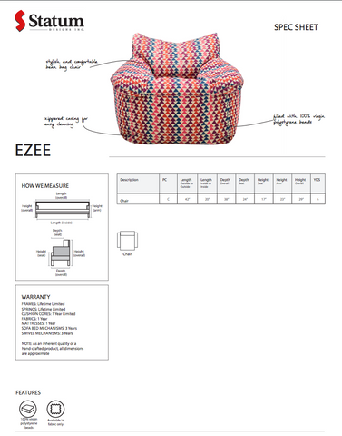 Ezee Chair by Statum