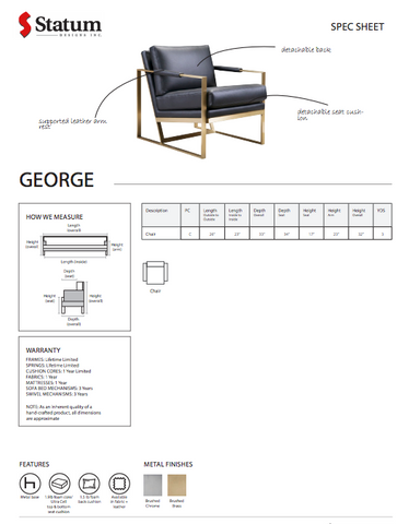 George Chair by Statum