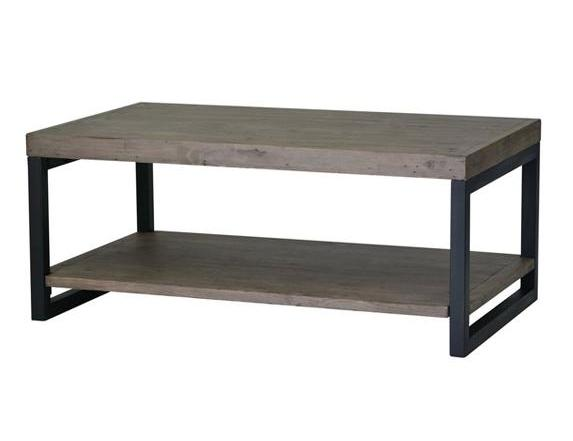 Wooden Forge Coffee Table - Sundried