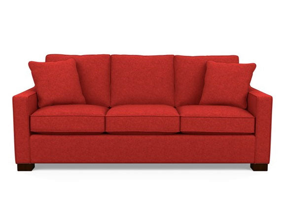 Metro sofa by Stylus - Tony in Red